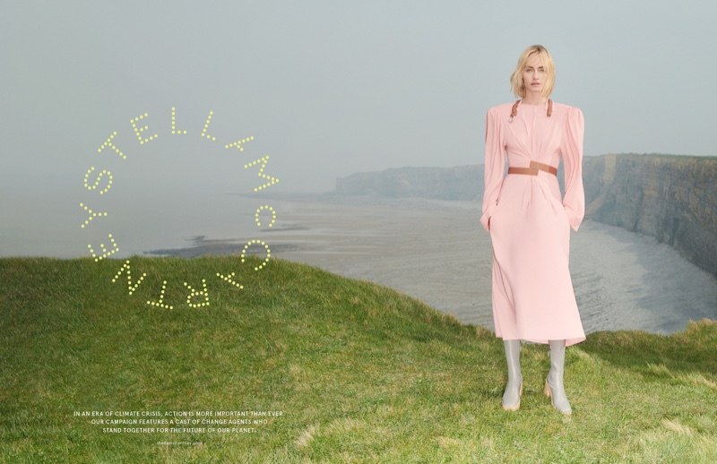 Amber Valletta stars in Stella McCartney fall-winter 2019 campaign