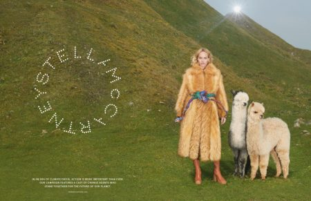 Model Amber Valletta fronts Stella McCartney fall-winter 2019 campaign