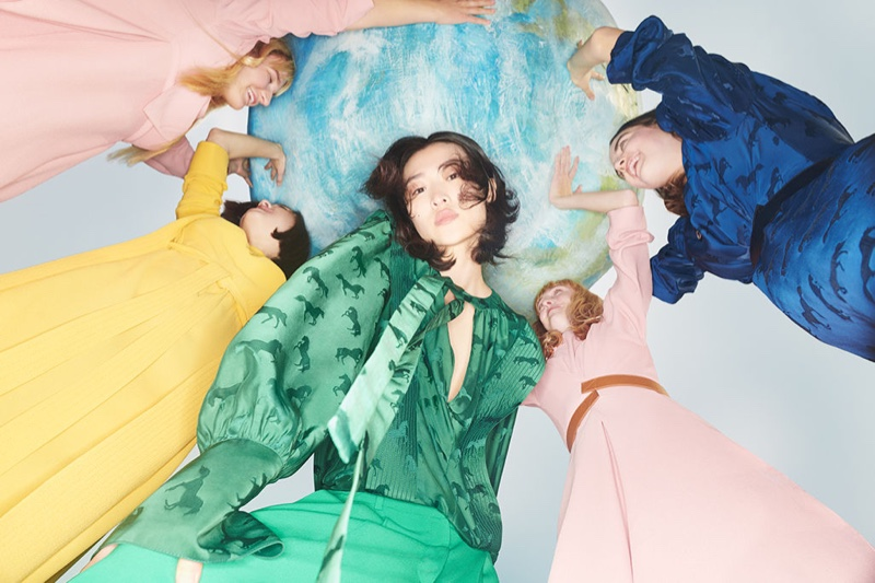 An image from Stella McCartney's fall 2019 advertising campaign