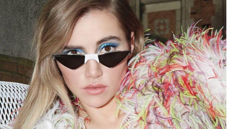 Suki Waterhouse Poses in Statement Styles for Tatler Russia