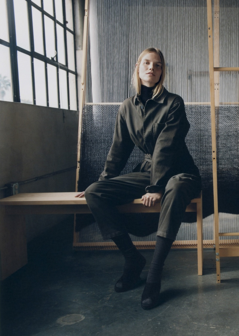 Suvi Koponen Layers Up in Pre-Fall Looks for Dior Magazine
