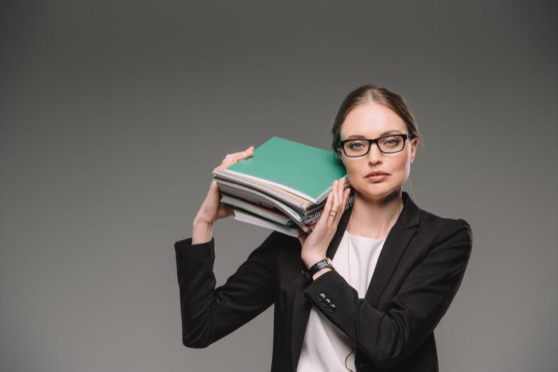 Teacher Books Glasses