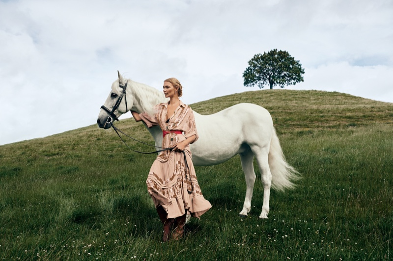 Temperley London sets fall-winter 2019 campaign in Somerset, England