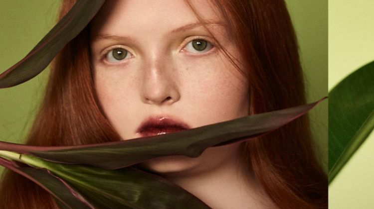 Tess McMillan is A Natural Beauty for Harrods Magazine