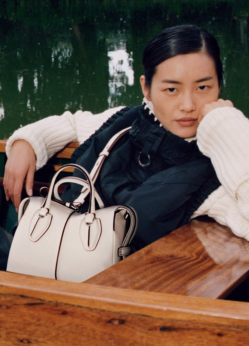 Model Liu Wen fronts Tod's fall-winter 2019 campaign