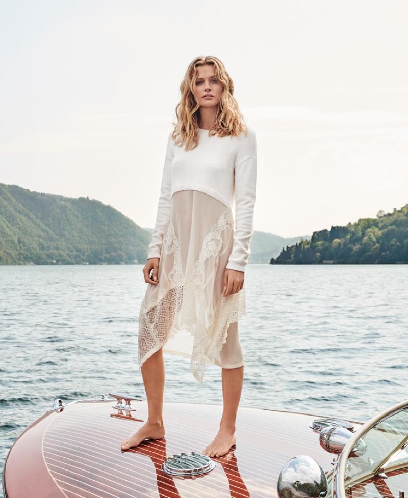 Edita VIlkeviciute stars in Twinset fall-winter 2019 campaign