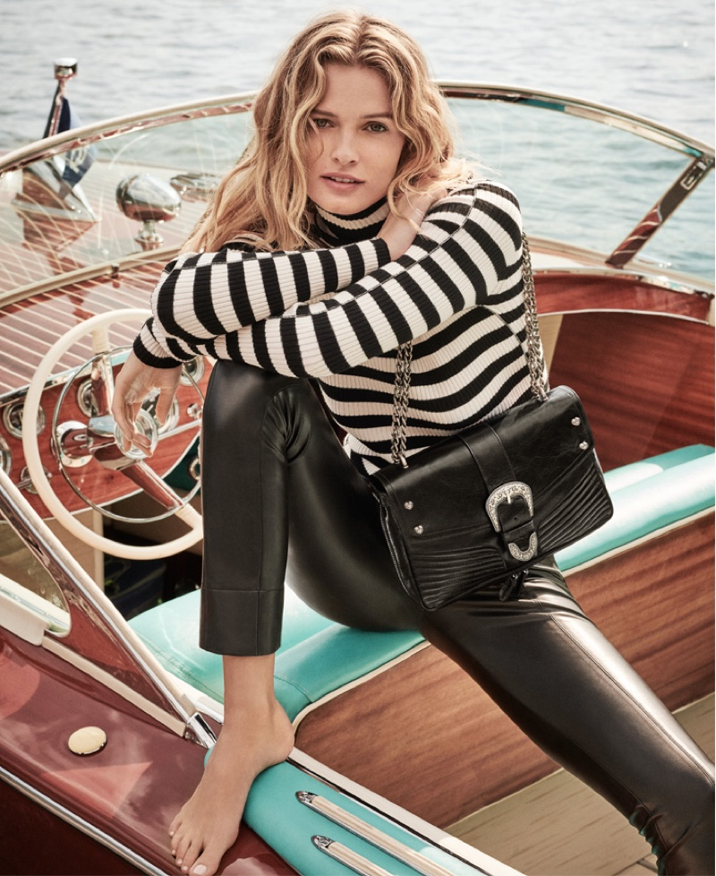 Twinset enlists Edita Vilkeviciute for fall-winter 2019 campaign