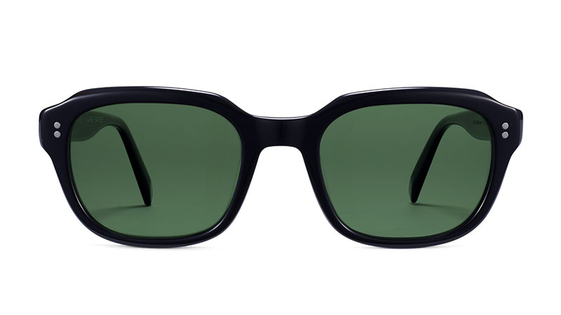 Warby Parker Atwater Sunglasses in Jet Black $95