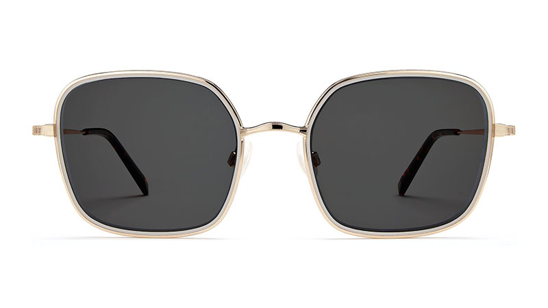 Warby Parker Claudette Sunglasses in Ash Riesling $145