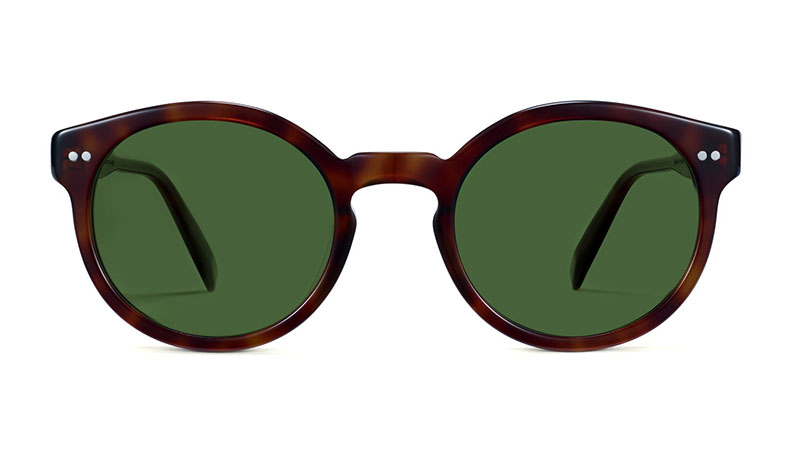 Warby Parker Edgemont Sunglasses in Peppercorn Tortoise $95