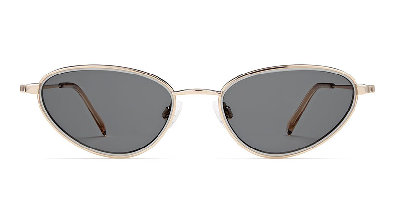 Warby Parker Estelle Sunglasses in Ash with Riesling $145