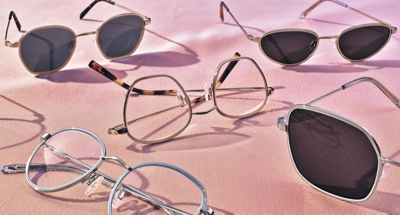 Warby Parker Trace Edition glasses
