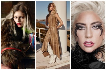 Week in Review | Sasha Pivovarova's New Cover, Versace Fall Ads, Lady Gaga's Makeup Line + More