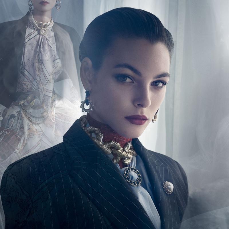 Vittoria Ceretti appears in Zara fall-winter 2019 campaign