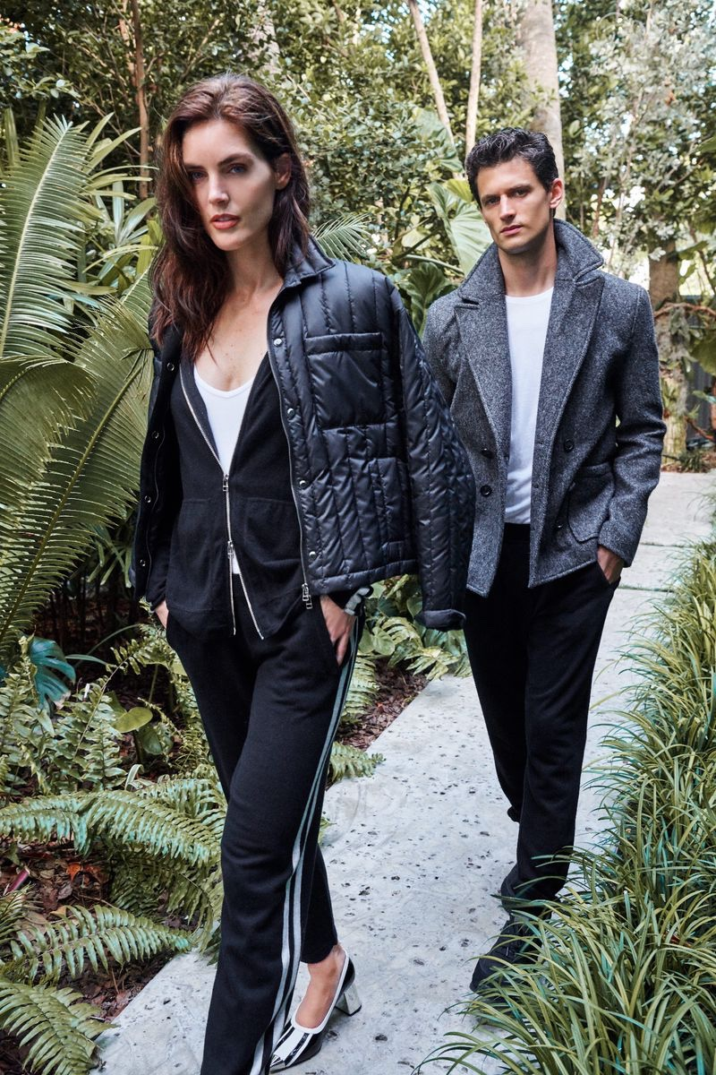 ATM taps Hilary Rhoda and Garret Neff for fall-winter 2019 campaign
