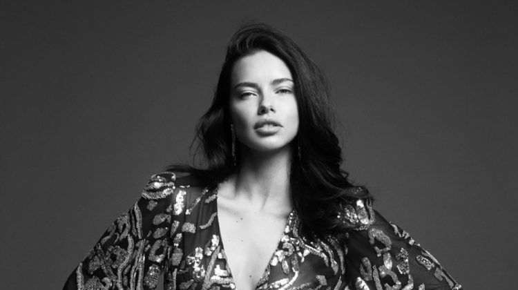 Adriana Lima stars in BCBGMAXAZRIA fall-winter 2019 campaign