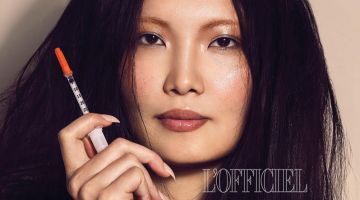 Alexa Wu Embraces Summer Beauty for L'Officiel India
