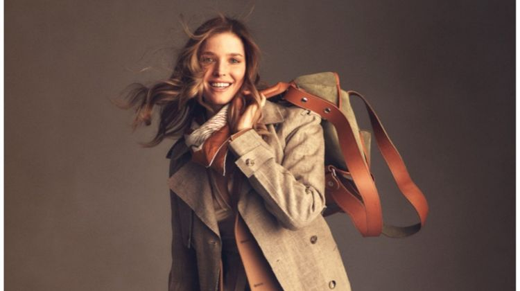 Alisa Ahmann Layers Up in Neutrals for ELLE Netherlands