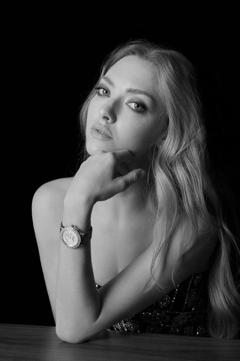 Amanda Seyfried stars in Jaeger-LeCoultre Dazzling Rendez-Vous Moon watch campaign