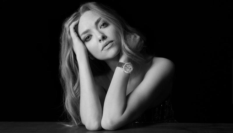 Jaeger-LeCoultre Dazzling Rendez-Vous Moon watch campaign enlists Amanda Seyfried