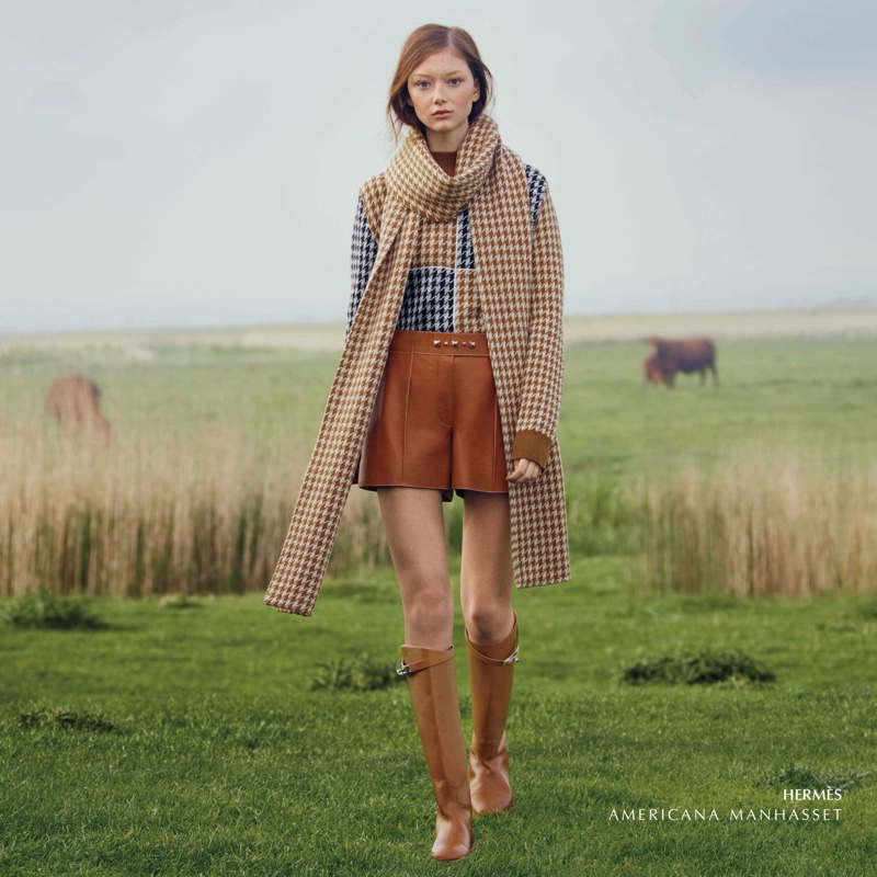 Americana Manhasset features Hermes designs in fall 2019 campaign
