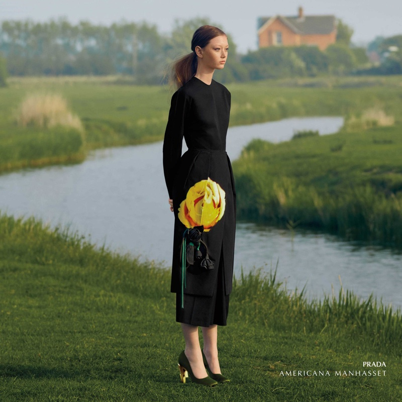 Americana Manhasset spotlights Prada for fall-winter 2019 campaign