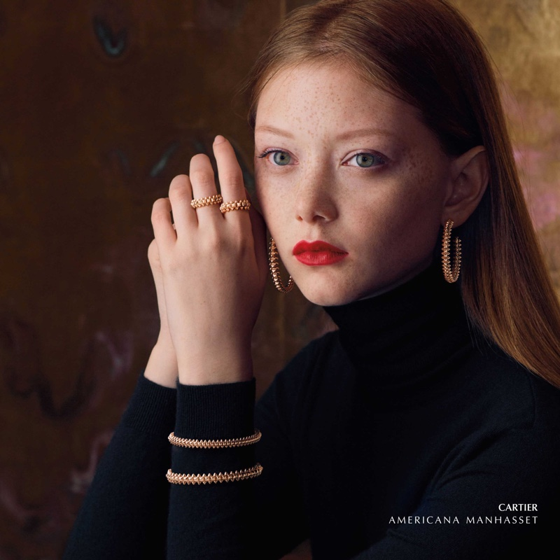 Cartier jewelry takes the spotlight in Americana Manhasset fall-winter 2019 campaign