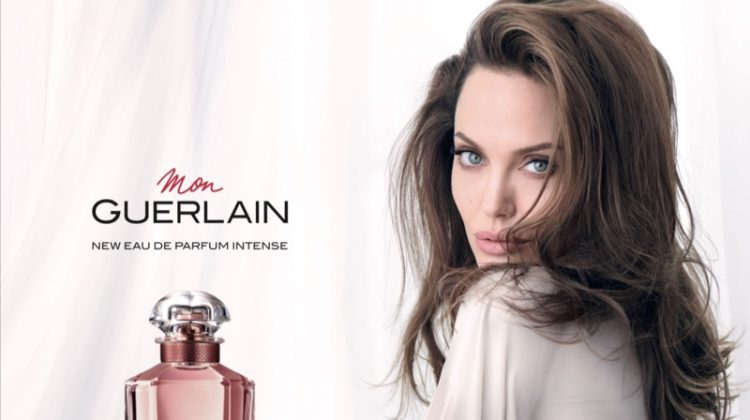 Angelina Jolie stars in Mon Guerlain Intense perfume campaign