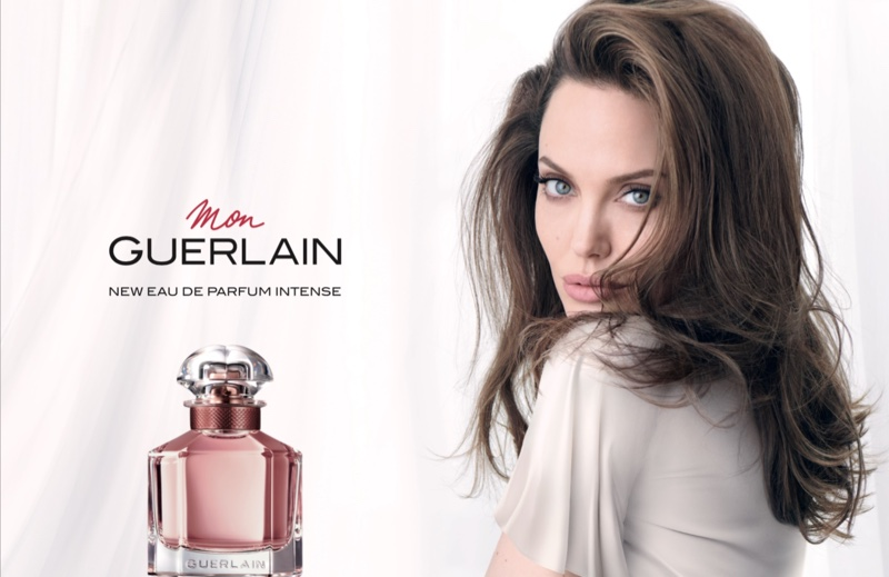 Angelina Jolie Wows in Mon Guerlain 'Intense' Perfume Campaign