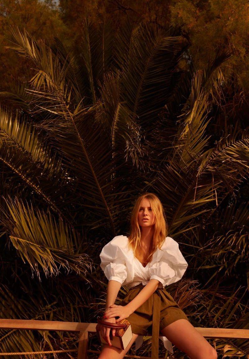 Aurelia Philipp Models Sunny Styles for Harper's Bazaar Turkey
