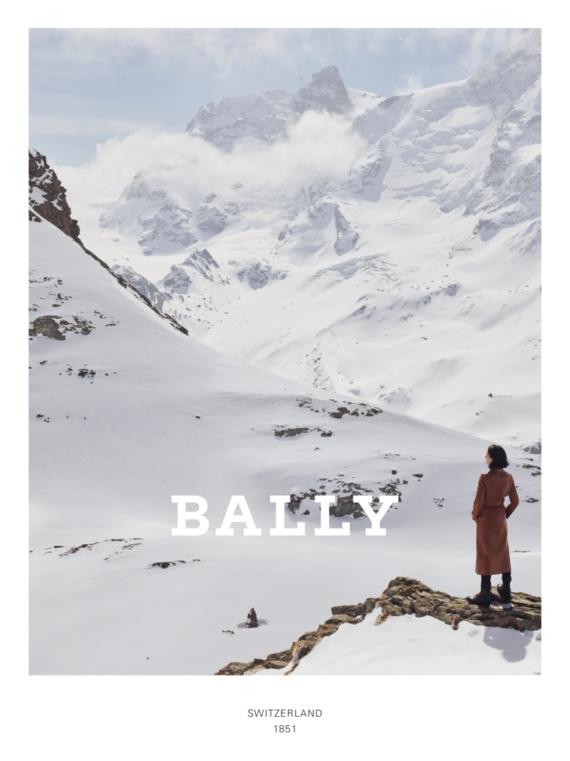 Bally sets fall-winter 2019 campaign in the Swiss Mountains