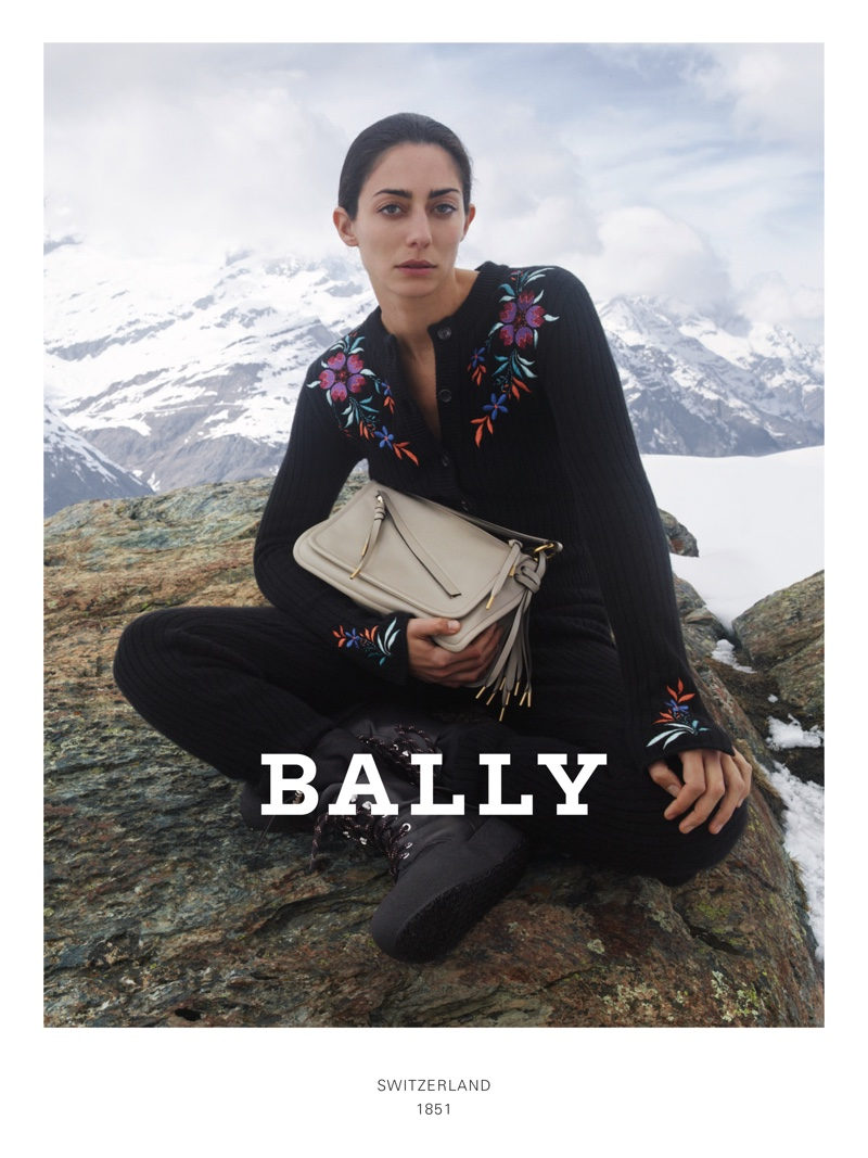 Conie Vallese fronts Bally fall-winter 2019 campaign