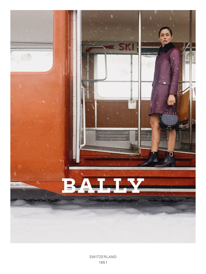 An image from Bally's fall 2019 advertising campaign
