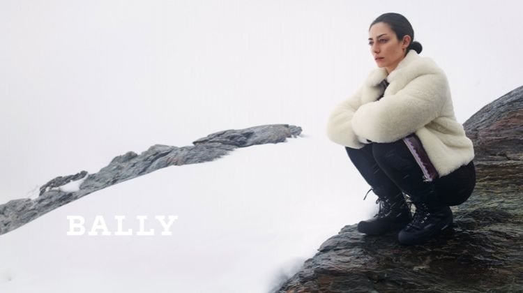 Conie Vallese stars in Bally fall-winter 2019 campaign
