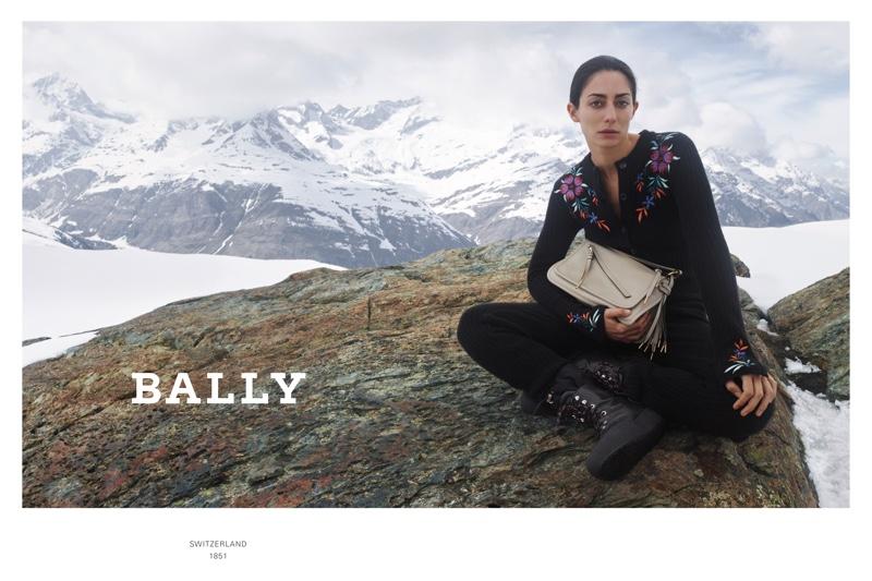 Zoe Ghertner photographs Bally fall-winter 2019 cmapaign