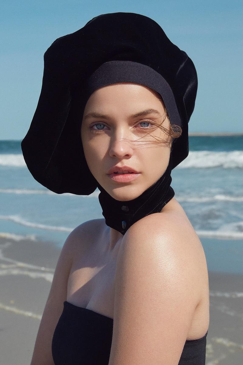Barbara Palvin Looks Gorgeous in Giorgio Armani for Io Donna