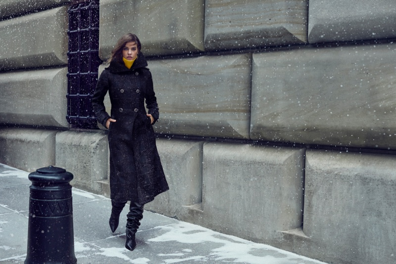 Model Barbara Palvin fronts Mackage fall-winter 2019 campaign