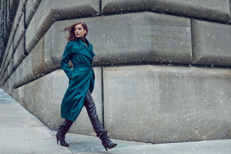 Mackage enlists Barbara Palvin for fall-winter 2019 campaign