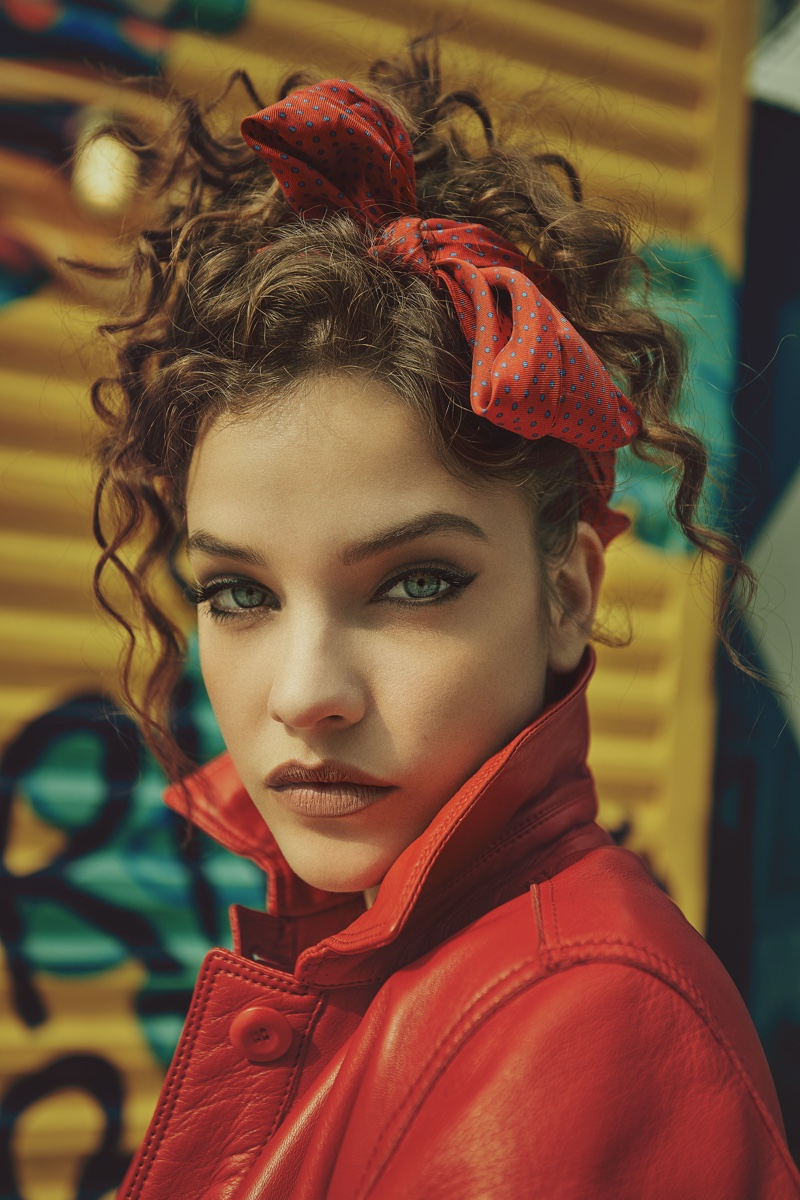 Barbara Palvin Wears Cool Girl Style for Numero Russia