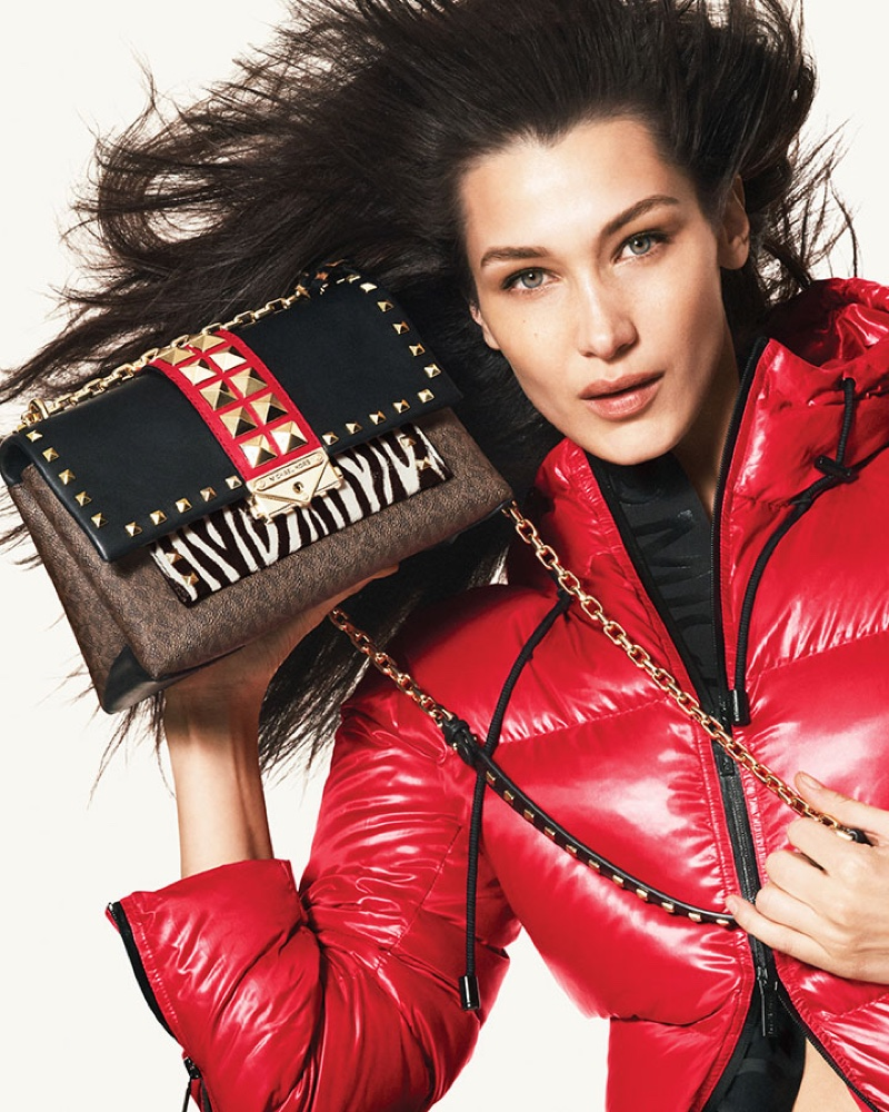 Bella Hadid stars in Michael Michael Kors fall-winter 2019 campaign