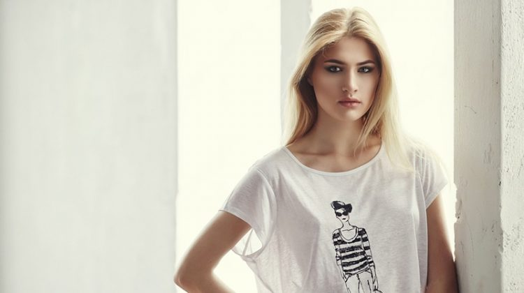 Blonde Woman Graphic Tee