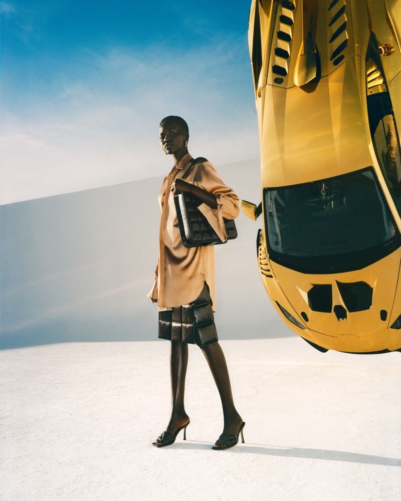 Adut Akech stars in Bottega Veneta fall-winter 2019 campaign
