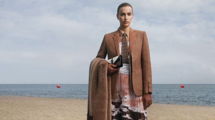 Irina Shayk stars in Burberry fall-winter 2019 campaign. Photo: Danko Steiner