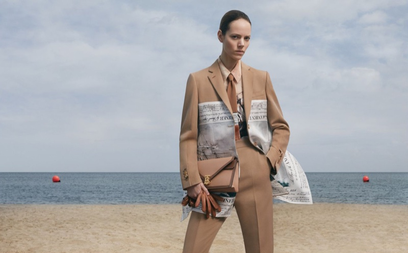 Freja Beha Erichsen fronts Burberry fall-winter 2019 campaign. Photo: Danko Steiner