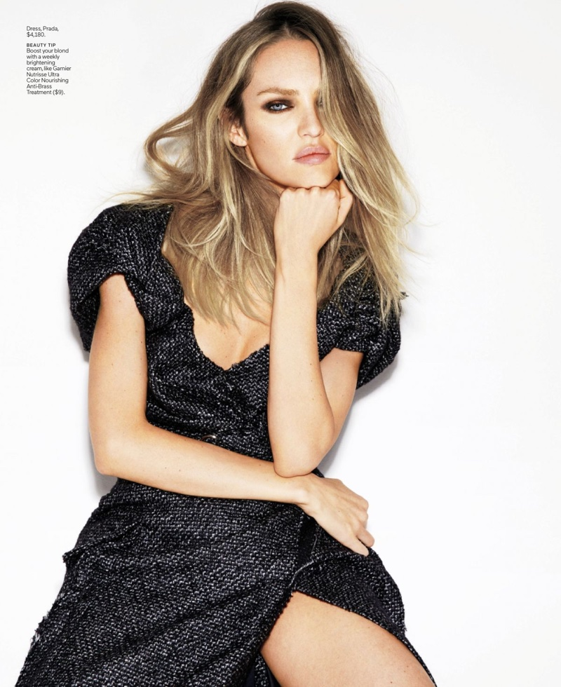 Candice Swanepoel Models Going Out Looks for ELLE
