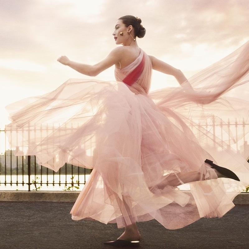 An image from Carolina Herrera's fall 2019 advertising campaign