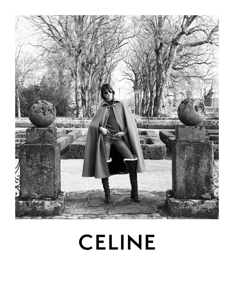 Celine launches winter 2019 advertising campaign