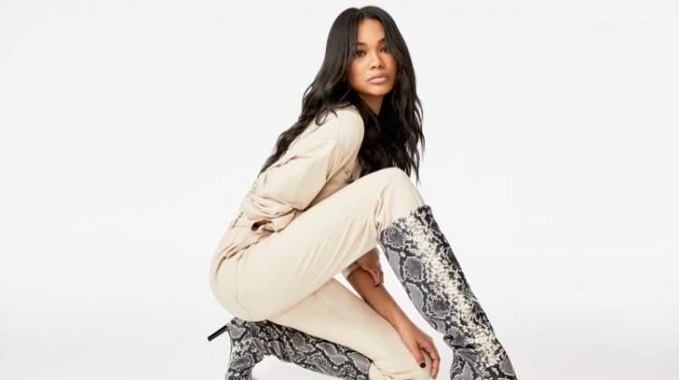 Chanel Iman stars in Marc Fisher fall-winter 2019 campaign