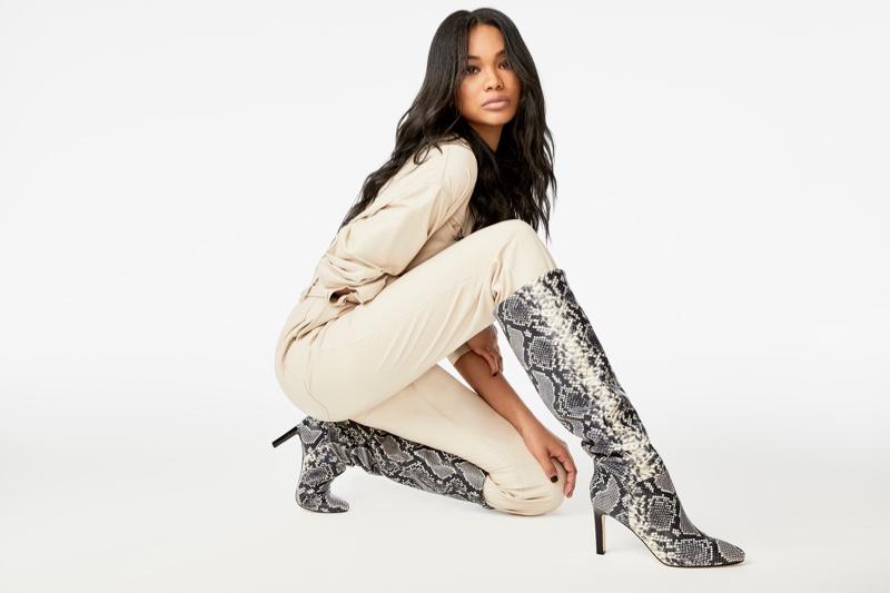Chanel Iman stars in Marc Fisher  fall-winter 2019 campaign