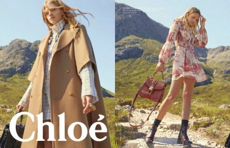 Eliza Kallmann and Kat Carter star in Chloe fall-winter 2019 campaign